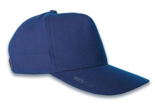 Бейсболки под нанесение, синяя