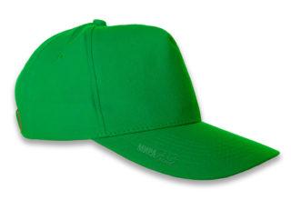 Бейсболка под нанесение, зеленая