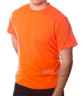 Футболка для печати мужская, оранж
