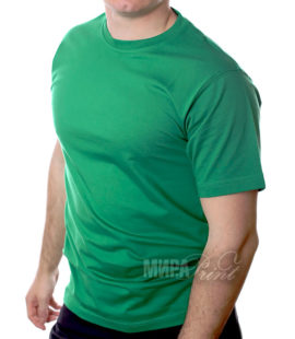 Футболка для печати мужская, зеленая