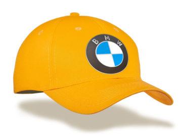 Печать на бейсболках логотипа авто