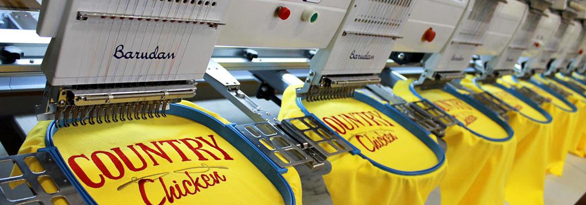 Машинная вышивка на заказ