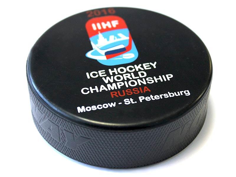 Печать на хоккейных шайбах