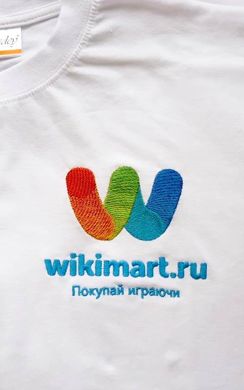 Вышивка на футболках на заказ