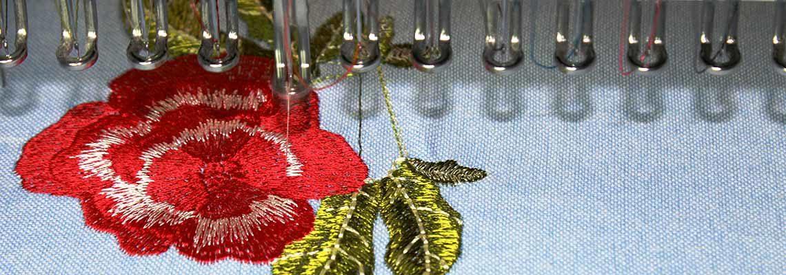 Вышивка на готовых изделиях
